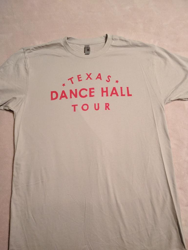 Dance across Texas tour shirt