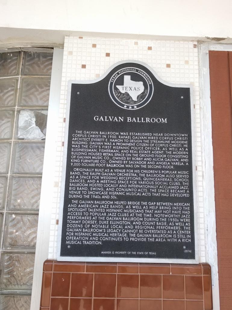 Galvin ballroom marker