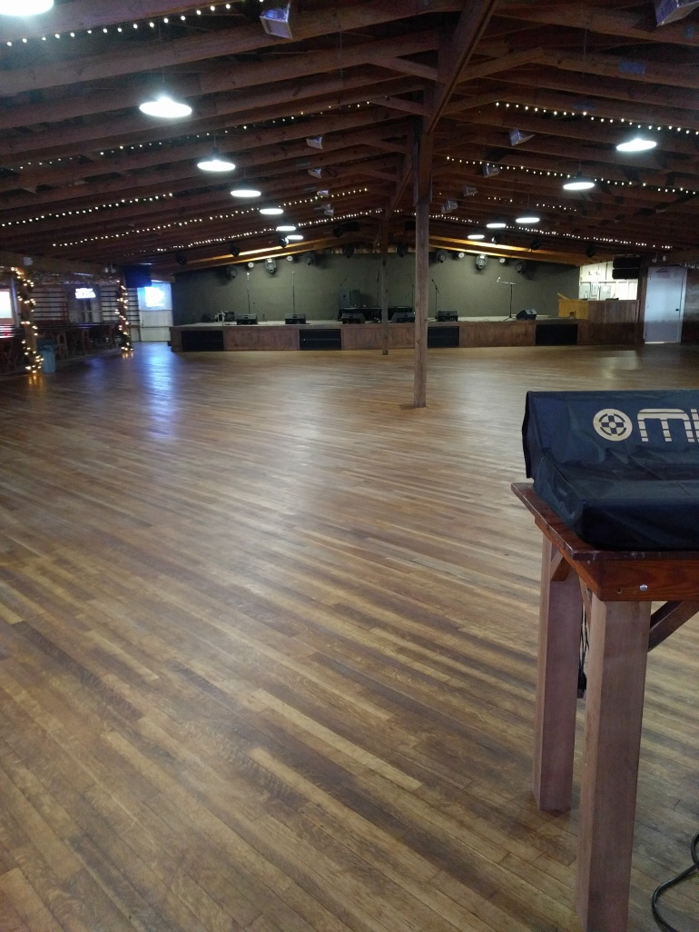 Schroeder hall dance floor