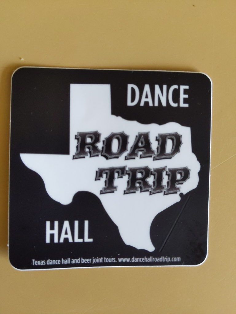 Dance hall Road Trip Sticket