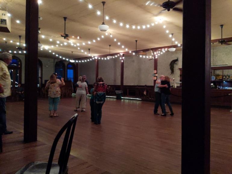 dance floor and dancers